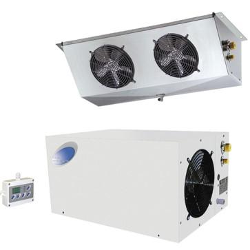 Gruppo split a pavimento,per celle di refrigerazione temp +2°c/+10°c, per 16 m³