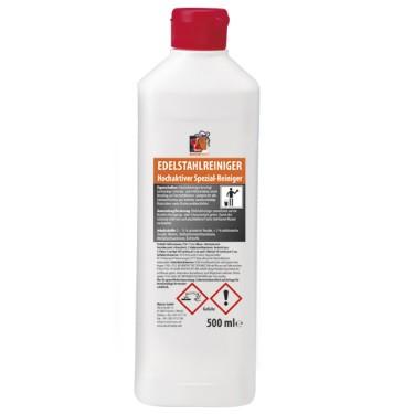 detergente acciaio inox liquido, 0,5 litro