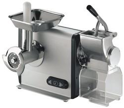 Tritacarne/grattugia in alluminio; 70/45kg/h