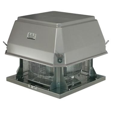 estrattore da tetto centrifugo a 2 velocità, 17800 m³/h, omologato CTICM per 400°/2 h
