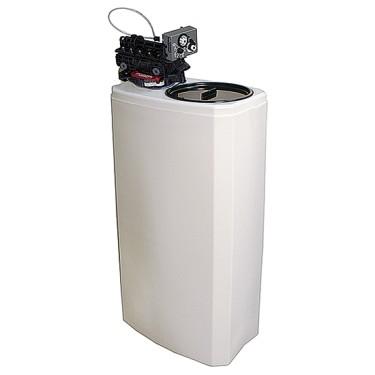 Addolcitore acqua automatico, capacità 27 litri, 1000 litri/h, riserva sale 50 kg.