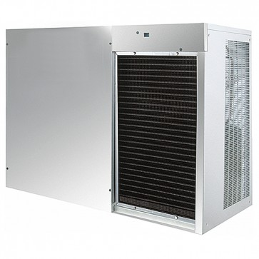 Produttore di ghiaccio a cubetti, aria,produzione 750kg/24h