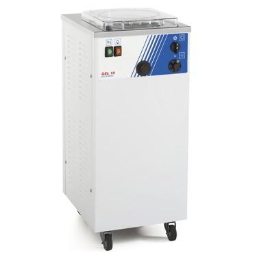 Macchina da gelato da banco con raffreddamento ad aria, produzione 5÷10 litri/ ora