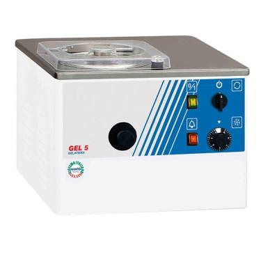 Macchina da gelato da banco con raffreddamento ad aria, produzione 10÷20 litri/ ora