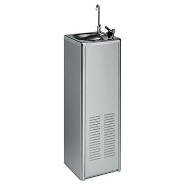 Fontanella di acqua per acqua fredda fino a +4°C, min. 31 litri/ ora, modello a pavimento