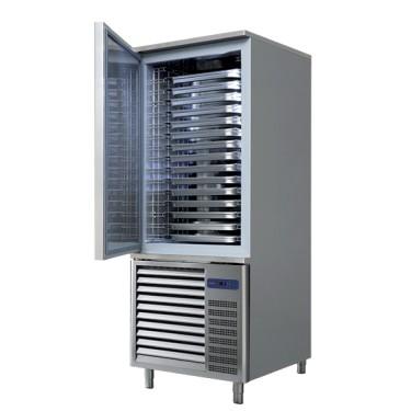 Abbattitore di temperatura, +90°C/-18°C 25 kg/ 90 min., 7x GN 1/1 o 60x40