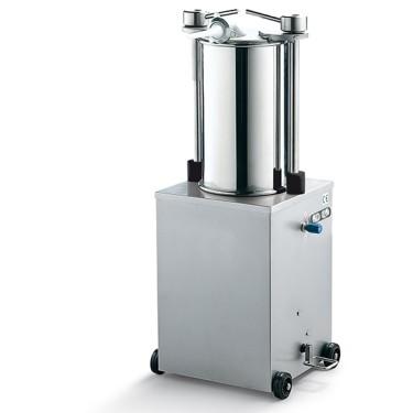 Insaccatrice vert idra, cap 25lt, cilindro larghezza=460