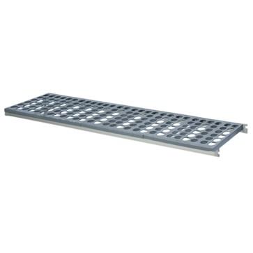 Ripiano per scaffale in alluminio, p=460, larghezza=1070