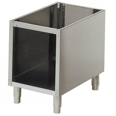 base aperta per apparecchiature da banco l=400 mm