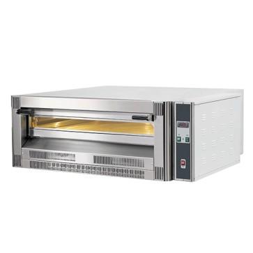 Forno pizza a gas da 1 camera per 6 pizze d 33cm, elettronico