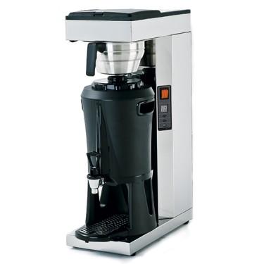 Macchina caffè a filtro con termos 2,5lt, con attacco idrico diretto capacità 15 lt. ora