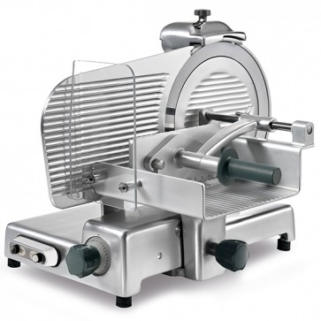 Affettatrice verticale, per carni,diametro lama ø 350 mm modello per gastronomia,macelleria.