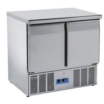 Banco refrigerato 2 porte - GN1/1 +4/+10°C