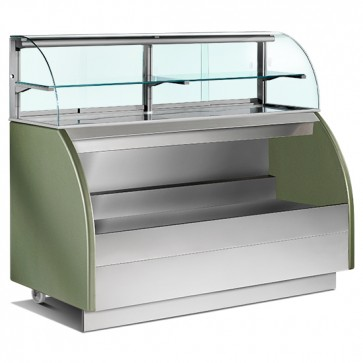 Banco self-service refrigerato ventilato, larghezza=1200