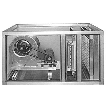 unità termoventilante per riscaldamento aria, 2 velocità, 2100|3000 m³/h