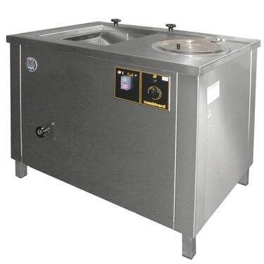 Lavaverdure con centrifuga, cap 13/115lt