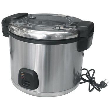 Cuociriso elettrico inox, cap. 10 litri