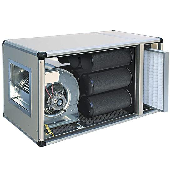 Centrale filtrazione e deodorizzazione a carboni attivi
