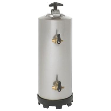 Addolcitore acqua manuale,capacità 8 litri, attacco 3/8.