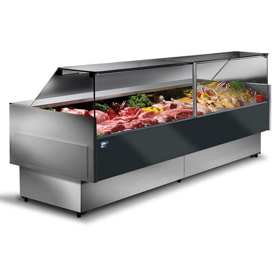 Banchi carne refrigerati ventilati