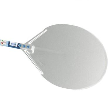 Pala in alluminio per pizze ø 320mm, larghezza=650mm