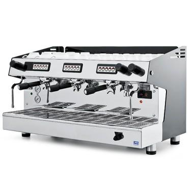 macchina da caffè automatica, 3 gruppi, 18 litri