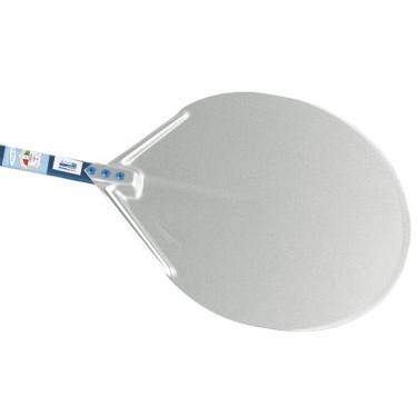 Pala in alluminio per pizze ø 500, larghezza=2000mm