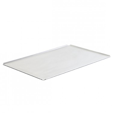 Teglia in alluminio non rivestita, GN 1/1 - 4 bordi 45°