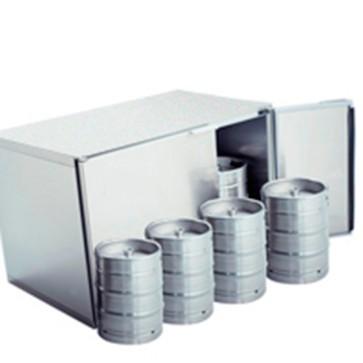 Refrigeratore fusti birra gruppo remoto,capacità fusti 8x 50 litri