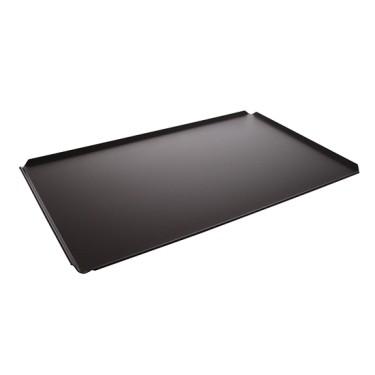 Teglia in alluminio non rivestita, GN 1/1 - 4 bordi 45°, rivestimento termoplastico