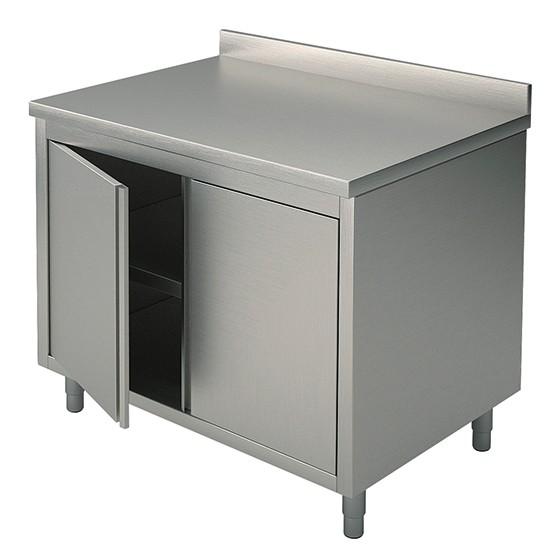 Tavoli armadiati con porte a battente con alzatina profondità 60 cm