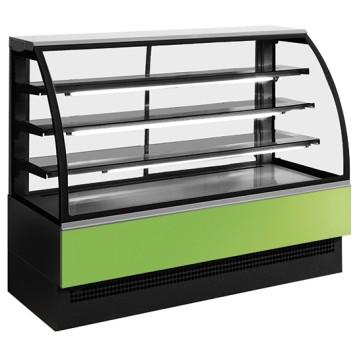 Banco caldo per pasticceria con 3 ripiani, +30 °c/+90 °c, larghezza =600 mm