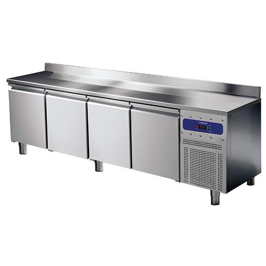 Tavoli refrigerati profondità 600 mm con alzatina