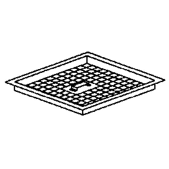 Vasche grigliate a pavimento per scarichi Centrali