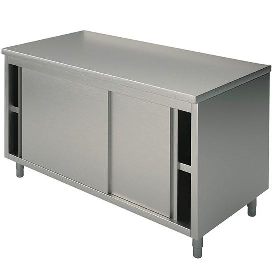 Tavoli armadiati con porte scorrevoli profondità 70 cm