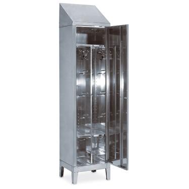 Armadio spogliatoio a 1 porta, h=2150 mm.