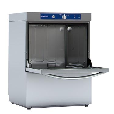 Lavabicchieri meccanica con dosatore detergente, cesto da 40x40 cm, max h=27 cm