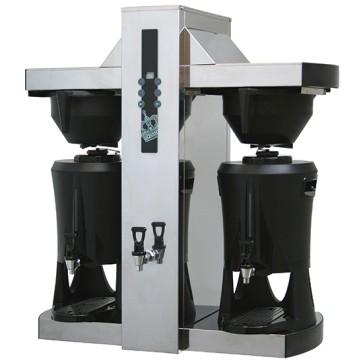 Macchina di caffè a filtro con Contenitore Termico, capacità 30+30 lt/ora