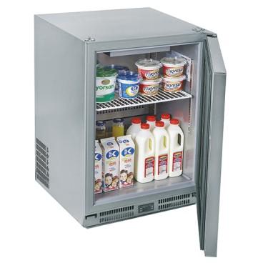 Frigo refrigeratore ventilato per bottiglie, cap. 100 litri, temp. -2°C/+8°C