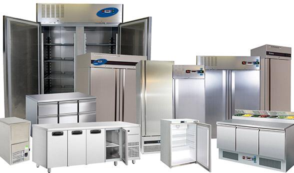 Tavoli e armadi refrigerati
