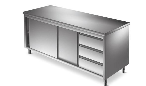 Arredamento inox for Mobili cucine professionali