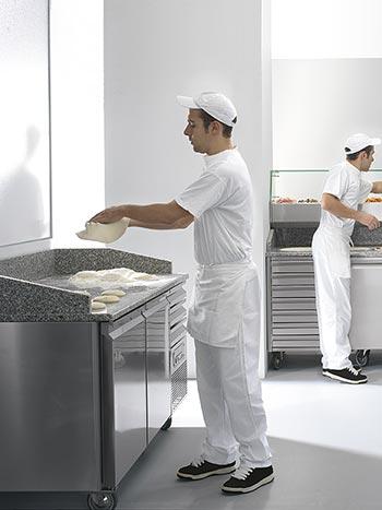 Banchi refrigerati per pizzeria