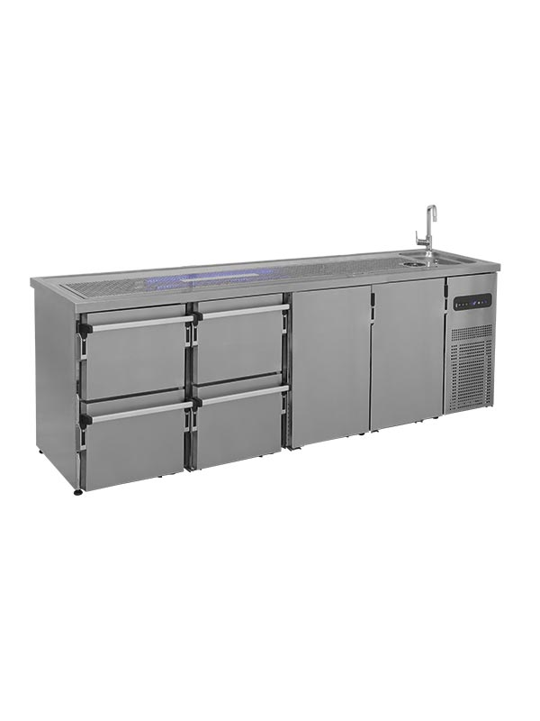 Banchi bar refrigerati