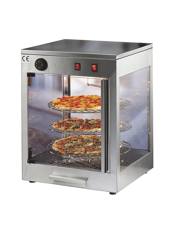 Vetrina espositore pizza calda