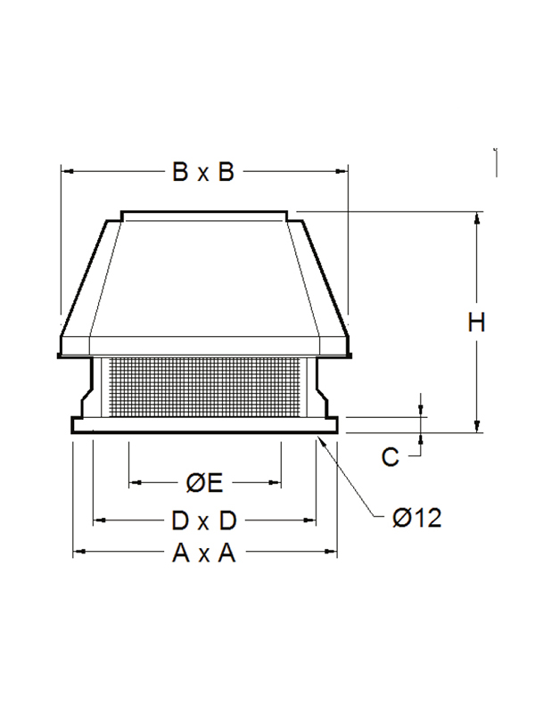 Estrattori centrifughi a tetto